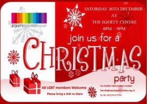 Join us for a Christmas Party @ Equity Centre | England | United Kingdom
