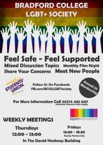 Bradford College LGBT+ Society