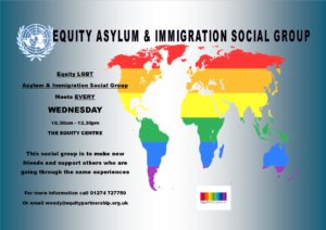 Equity LGBT Asylum and Immigration Social Group @ Equity Centre | England | United Kingdom