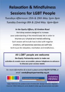 Relaxation and Mindfulness Sessions @ Equity Offices | England | United Kingdom