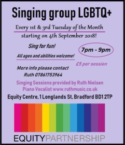 LGBT Singing Group @ Equity Centre | England | United Kingdom