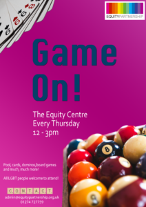 Game On! @ Equity Centre | England | United Kingdom