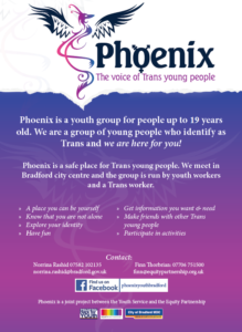 Phoenix Youth Group @ Equity Centre | England | United Kingdom